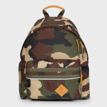 Eastpak - Sac A Dos Padded Zippl'r Timberland EK0A5B74 Vert Kaki Marron Camouflage