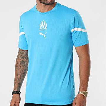 Puma - Tee Shirt De Sport OM 759533 Bleu Clair