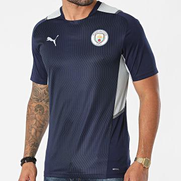 Puma - Tee Shirt De Sport Manchester City 764459 Bleu Marine