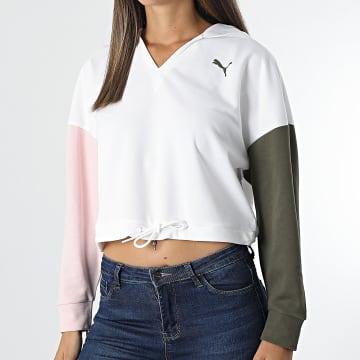 Puma - Sweat Capuche Femme Modern Sports 589486 Ecru