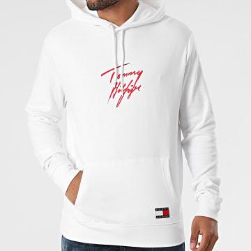 Tommy Hilfiger - Sweat Capuche Signature 2191 Blanc