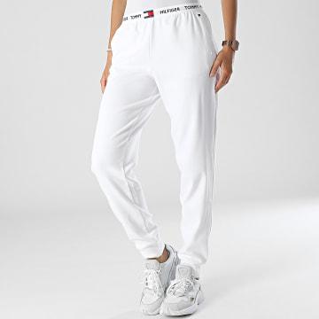 Tommy Hilfiger - Pantalon Jogging Femme 2274 Blanc