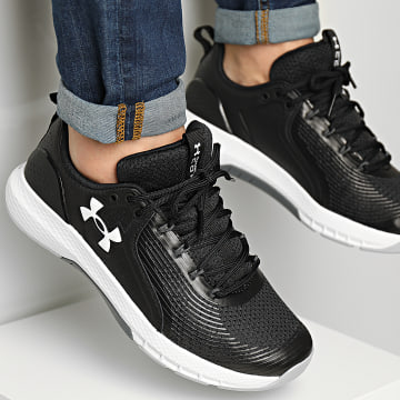 Under Armour - Baskets Charged Commit TR 3 3023703 Black White