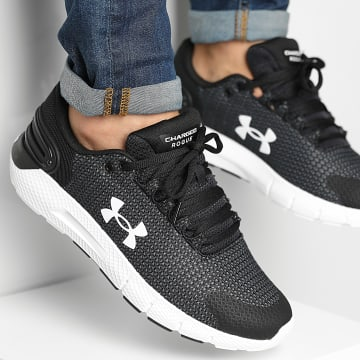 Under Armour - Baskets Charged Rogue 2 5 3024400 Black White