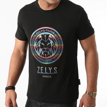 Zelys Paris - Tee Shirt Strass Lenox Noir