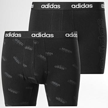 Adidas Performance - Lot De 2 Boxers H35741 Noir