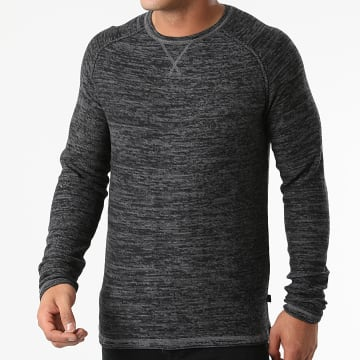 Blend - Pull 20712640 Gris Anthracite Chiné