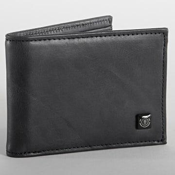 Element - Portefeuille Cuir Segur Leather W5LWB4-ELPP Noir
