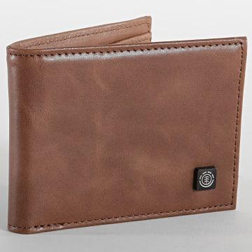 Element - Portefeuille Cuir Segur Leather W5LWB4-ELPP Marron