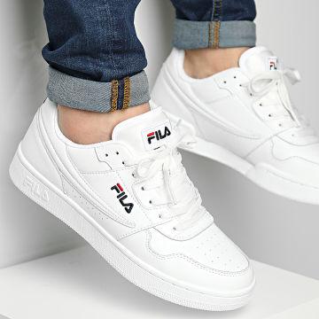 Fila - Baskets Arcade Low 1010583 White Fila Navy