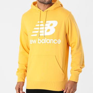 New Balance - Sweat Capuche MT03558 Jaune