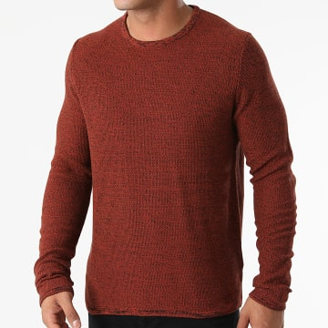 Only And Sons - Pull Niko Life Marron Chiné