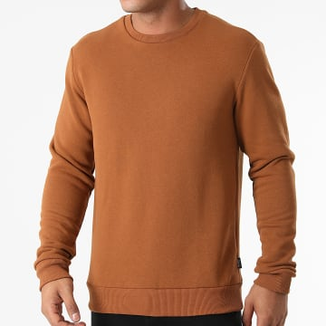 Only And Sons - Sweat Crewneck Ceres Marron
