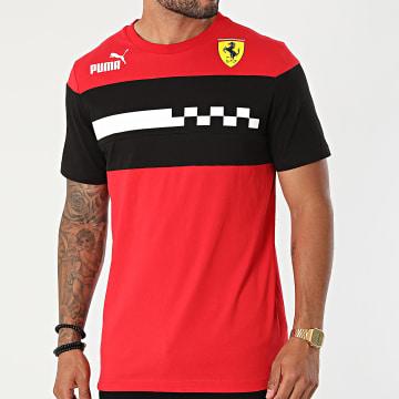 Puma - Tee Shirt Scuderia Ferrari Race 531653 Rouge Noir