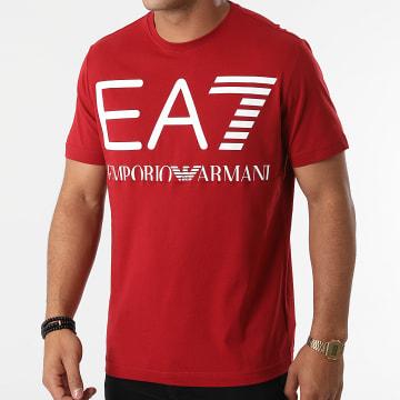 EA7 Emporio Armani - Tee Shirt 6KPT23-PJ6EZ Rouge Foncé