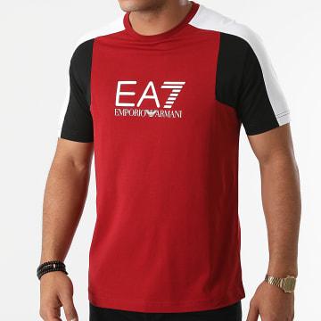 EA7 Emporio Armani - Tee Shirt 6KPT12-PJ7CZ Rouge Foncé