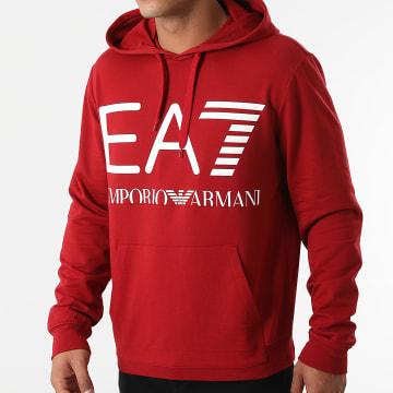 EA7 Emporio Armani - Sweat Capuche 6KPM69-PJBWZ Bordeaux