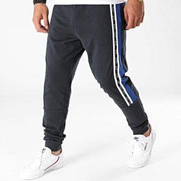 EA7 Emporio Armani - Pantalon Jogging A Bandes 6KPP65-PJ05Z Bleu Marine