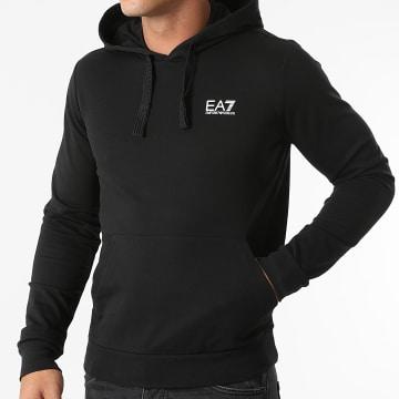 EA7 Emporio Armani - Sweat Capuche 8NPM04-PJ05Z Noir