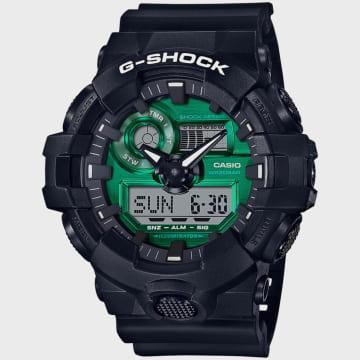 Casio - Montre G-Shock GA-700MG-1AER Noir