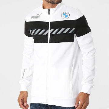 Puma - Veste Zippée BMW Motorsport 531174 Blanc Noir