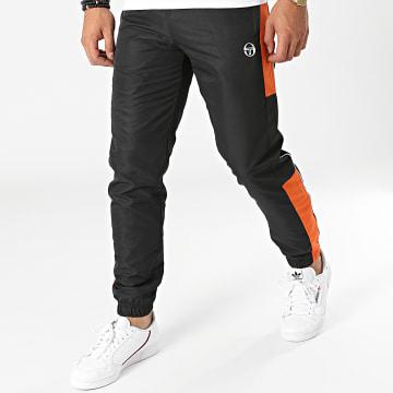 Sergio Tacchini - Pantalon Jogging A Bandes Abita 39145 Noir