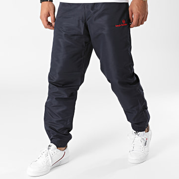 Sergio Tacchini - Pantalon Jogging Carson Slim 39171 Bleu Marine