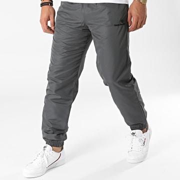 Sergio Tacchini - Pantalon Jogging Carson Slim 38718 Gris Anthracite