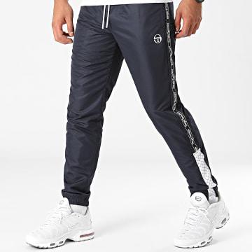Sergio Tacchini - Pantalon Jogging A Bandes Nedo 39334 Bleu Marine