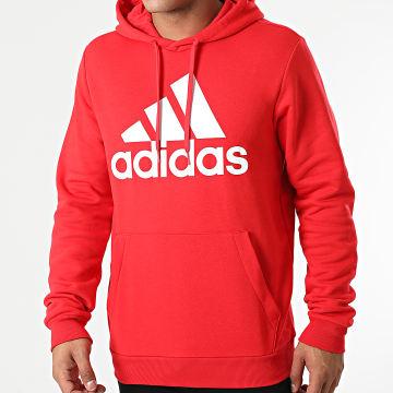 Adidas Performance - Sweat Capuche Big Logo GM6968 Rouge