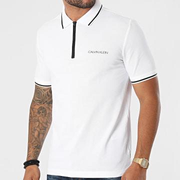 Calvin Klein - Polo Manches Courtes 7420 Blanc
