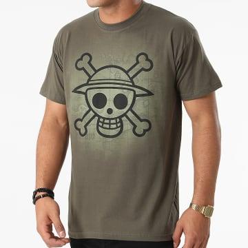 One Piece - Tee Shirt ABYTEX059 Vert Kaki