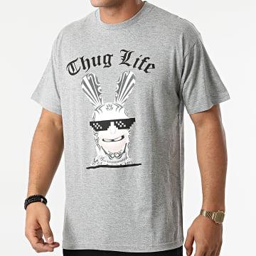 Lapins Crétins - Tee Shirt ABYTEX360 Gris Chiné