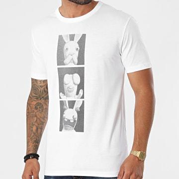 Lapins Crétins - Tee Shirt ABYTEX468 Blanc