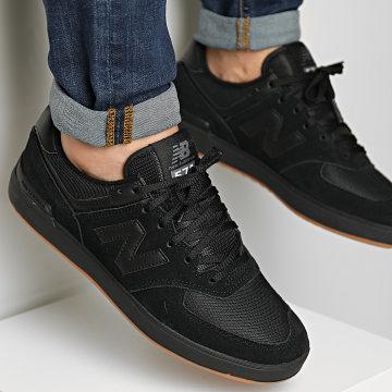 New Balance - Baskets Lifestyle 574 AM574CBL black