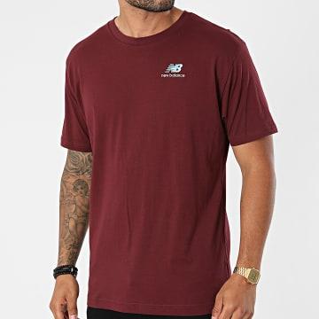New Balance - Tee Shirt MT11592 Bordeaux