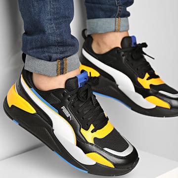 Puma - Baskets X-Ray 2 Square 373108 Black White Saffron Blue