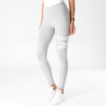 Reebok - Legging Femme GR9377 Gris Chiné
