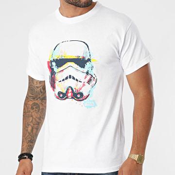 Star Wars - Tee Shirt ABYTEX321 Blanc