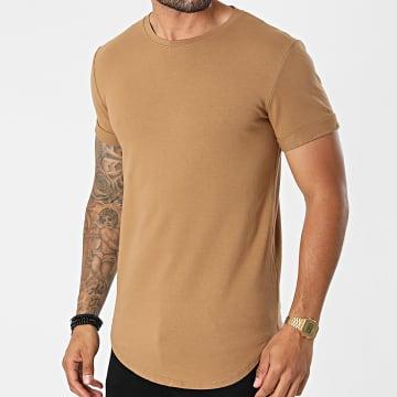 Uniplay - Tee Shirt Dégradé UY667 Camel