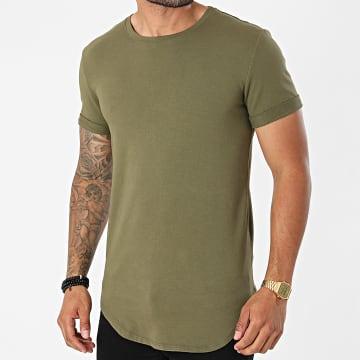Uniplay - Tee Shirt Oversize UY667 Vert Kaki