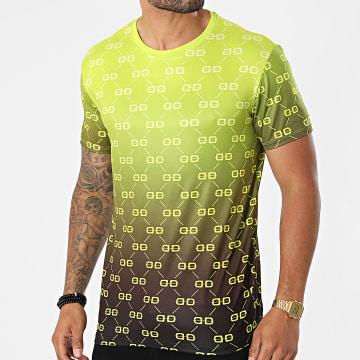 Uniplay - Tee Shirt Dégradé UY659 Vert Noir