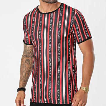 Uniplay - Tee Shirt T819 Noir Rouge