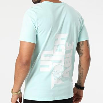 Untouchable - Tee Shirt Logo Mint Blanc
