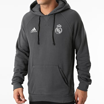 Adidas Performance - Sweat Capuche Real Madrid GR4276 Gris Anthracite
