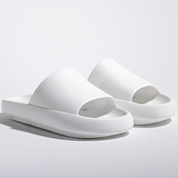 Classic Series - Claquettes Femme Essential Blanc