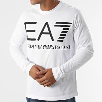 EA7 Emporio Armani - Tee Shirt Manches Longues 6KPT30-PJ6EZ Blanc