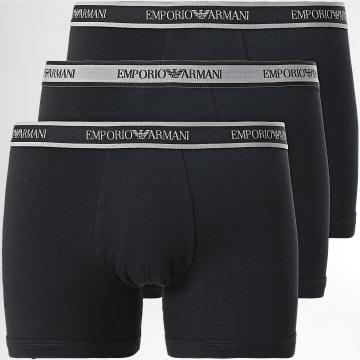Emporio Armani - Lot De 3 Boxers 111473 1A717 Noir