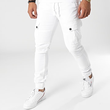 John H - Jogger Pant XQ08 Blanc