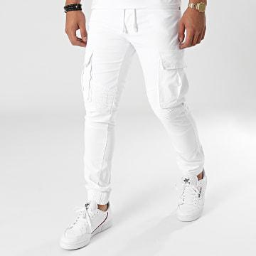 John H - Jogger Pant XQ06 Blanc